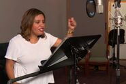 Cristela Alonzo behind the scenes Cars3