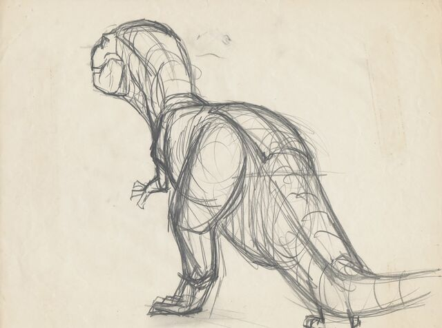 File:Drawing of T-rex 7.jpg