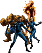 Fantastic Four Marvel Avengers Alliance