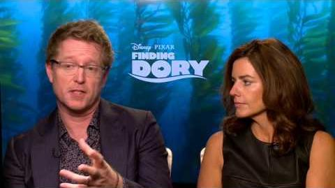 Finding Dory Interview - Andrew Stanton & Lindsey Collins