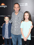 Gilbert Gottfried and kids at Disneynature's Born In China premire