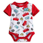 Lightning McQueen Disney Cuddly Bodysuit for Baby
