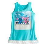 Stitch and Angel WDW Girls' Lace Tee