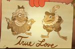 Two frog lovers