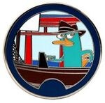WDW - Agent P's World Showcase Adventure Mystery Collection - Agent P Japan ONLY