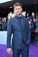 Chris Hemsworth Avengers EG premiere