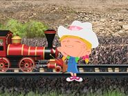 Cowgirl Annie train