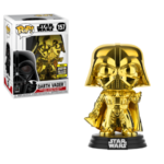 Darth Vader Gold Chrome POP