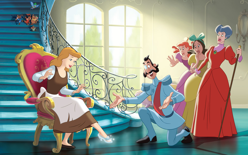 Image - Disney Princess Cinderella's Story Illustraition ...