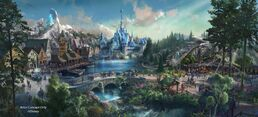 Frozen Land HKDL Concept