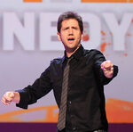 Jamie Kennedy speaks at Nickelodeon upfront