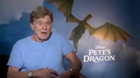 Pete's Dragon Interview - Robert Redford