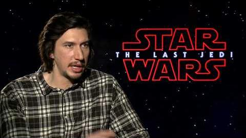 Star Wars The Last Jedi Adam Driver Interview