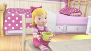 Susie Sunshine enjoys tea party for happiness