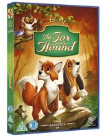 The Fox and the Hound UK DVD 2014