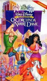 The Hunchback of Notre Dame Brazil Subtitled VHS