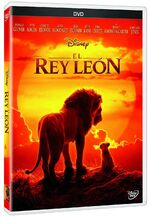 The Lion King 2019 DVD México