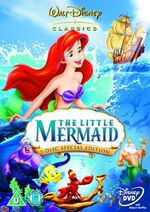 The Little Mermaid SE 2006 UK DVD