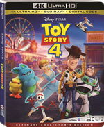 Toy Story 4 4KUHD Bluray