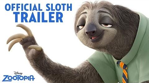 Zootopia Official US Trailer Sloth