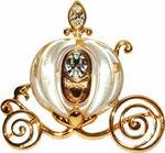 Disney Catalog - Cinderella Coach (Glass & Gold Plated)