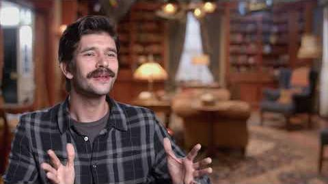 """MARY POPPINS RETURNS """"Michael Banks"""" Behind The Scenes Interview - Ben Whishaw"""