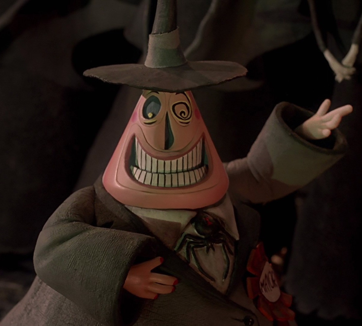 Evil Christmas Characters.Mayor Of Halloween Town Disney Wiki Fandom Powered By Wikia