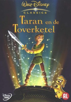 TedT Taran en de Toverketel DVD 1e cover