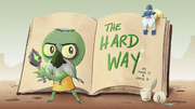 The Hard Way title card