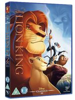 The Lion King UK DVD 2014