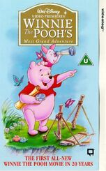 Winnie the pooh's most grand adventure uk vhs