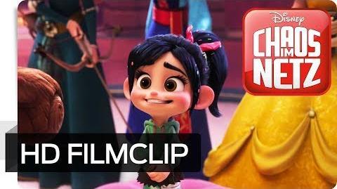 CHAOS IM NETZ - Filmclip Sie ist auch eine Prinzessin Disney HD