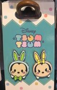 Easter Mickey and Minnie Tsum Tsum Pin Set