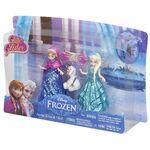 Frozen Anna Elsa Olaf Glitter Glider Playset