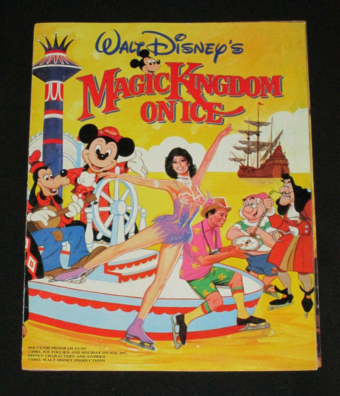 Magic Kingdom on Ice program