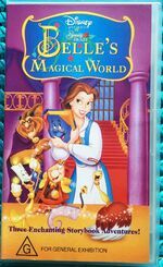 Beauty and the Beast Belle's Magical World 1998 AUS VHS