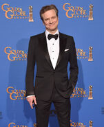 Colin Firth 72nd Golden Globes