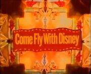 Come fly with disney title