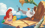 Disney Princess Ariel's Story Illustraition 2