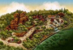Grizzly trail concept art