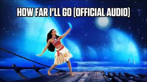 How Far I'll Go (Official Audio) - Just Dance Music