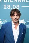 Johnny Depp 76th Venice Fest
