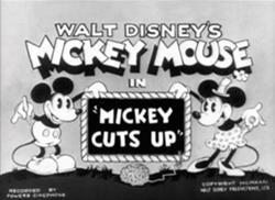 Mickey Cuts Up