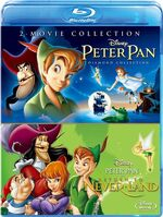 Peter Pan - Return to Never Land 2-Pack Japan Blu-Ray