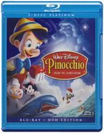 Pinocchio de bluray