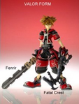 Sora Valor Form (Play Arts Figure)