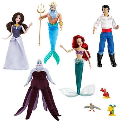 File:The Little Mermaid 2013 Disney Store Doll Set.jpg