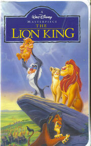 The lion king masterpiece vhs