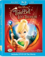 TinkerBellandtheeLostTreasureBlu-ray