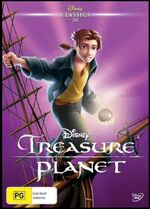 Treasure Planet 2016 AUS DVD
